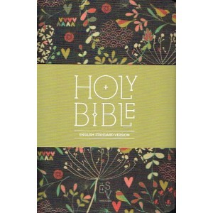English Standard Version Anglicized Fabric Compact Bible