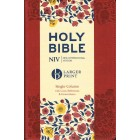 NIV Bible Larger Print Single Column