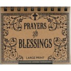 Perpetual Calendar - Prayers & Blessings Large Print