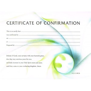 Certificate of Confirmation CC3