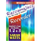 Razzamajazz Recorder student's copy 1, 2 & 3 by Sarah Watts