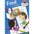 Food In The Bible colouring book by Ruth Hearson