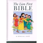 The Lion First Bible white