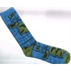 Breathe Easy Bamboo Socks - Maps