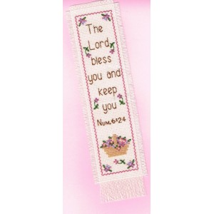 Bookmark Kit: The Lord bless you