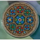 Coaster: Stained glass A