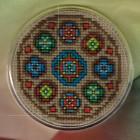 Coaster: Stained glass B
