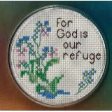 Coaster Kit For God is our refuge