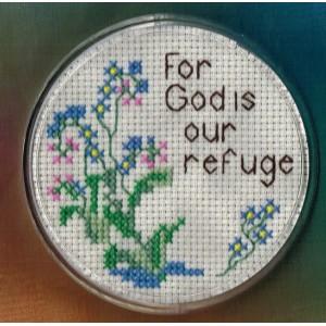 Coaster Kit For God is our refuge