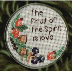 Coaster: The fruit of the Spirit