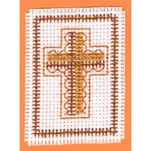 Card Kit: Gold cross