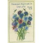 Sampler: Cornflowers