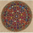 Sampler: Rose window