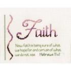 Sampler: Faith