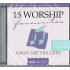 CD - 15 Worship Favourites: Great Are You Lord