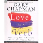 CD Love Is A Verb by Gary Chapman