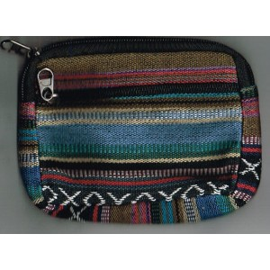 Fairtrade woven purse