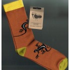 Breathe Easy Bamboo Socks - Gecko (LARGE)