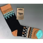 Breathe Easy Bamboo Socks - Tribal (LARGE)