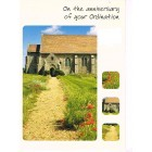 Greetings Card - Anniversary of your Ordination