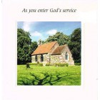 Greetings Card - As you enter God's Service 2