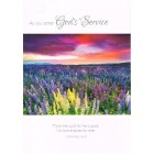 Greetings Card - As you enter God's Service 5