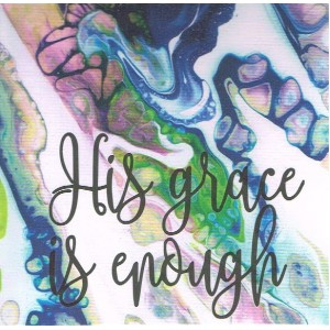 Card - Blank - His Grace Is Enough