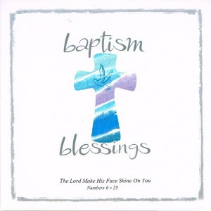 Greetings Card - Baptism