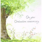 Greetings Card - Anniversary Ordination 3