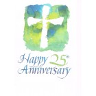 Greetings Card  - Silver Anniversary 3