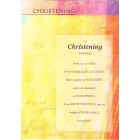 Greetings Card - Christening 3