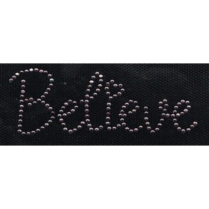 Iron-on patch - Believe