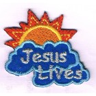Iron-on patch - Jesus lives