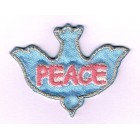 Iron-on Patch - Peace Dove