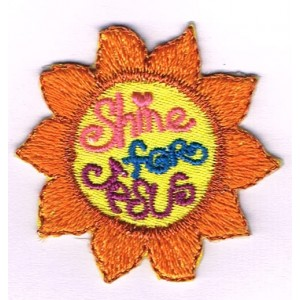 Iron-on patch - Shine for Jesus