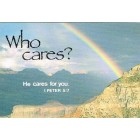 Prayer card - Who cares?