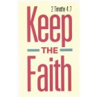 Prayer card - Keep the faith