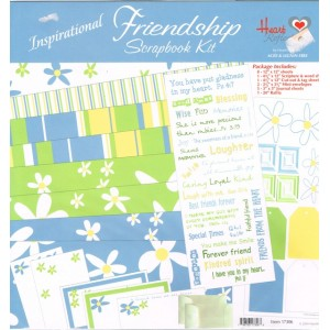 Scrapbooking kit - Friendship