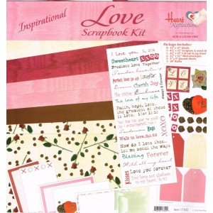 Scrapbooking kit - Love