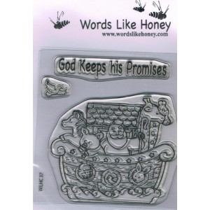 Stamp - God keeps His promises