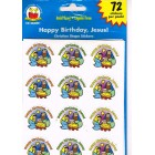 Happy Birthday Jesus Stickers