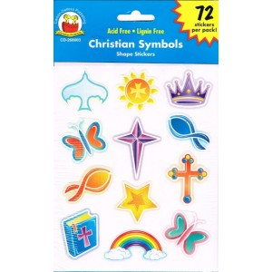Stickers - Christian symbols