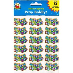 Stickers - Pray boldly