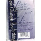 Bracelet - Fabric Bible text