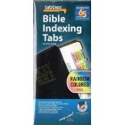 Bible Indexing Tabs - 80 Rainbow Coloured