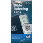 Bible Indexing Tabs - 80 Silver-Edged