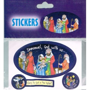 Stickers - Immanuel, God with Us