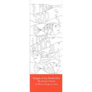 Bookmarks to colour - Joy